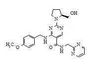 Avanafil Impurity - 4  Deschloro Impurity