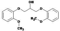 Ranolazine Impurity- C 1,3-bis(2-methoxyphenoxy)propan-2-ol