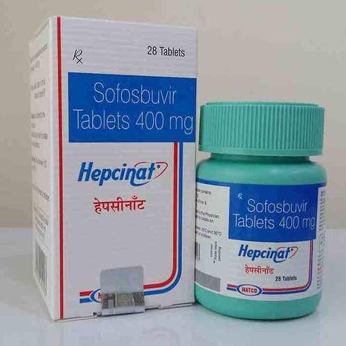 Hepcinat 400 Mg Tablets ( Sofosbuvir )