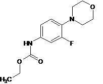 Linezolid Impurity- ethyl (3-fluoro-4-morpholin-4-ylphenyl)carbamate