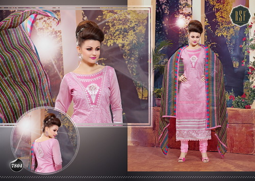 NEW DESIGNER PINK STRAIGHT SUIT