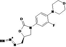 Linezolid Impurity- 1-{[(5R)-3-(3-fluoro-4-morpholin-4-ylphenyl)-2-oxo-1,3-oxazolidin-5-yl]methyl}