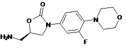 Linezolid Impurity-  (5R)-5-(aminomethyl)-3-(3-fluoro-4-morpholin-4-ylphenyl)-1,3-oxazolidin-2-one