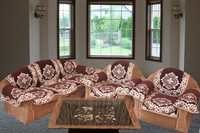 CHOCOLATY FIVE SEATER SOFA COVER