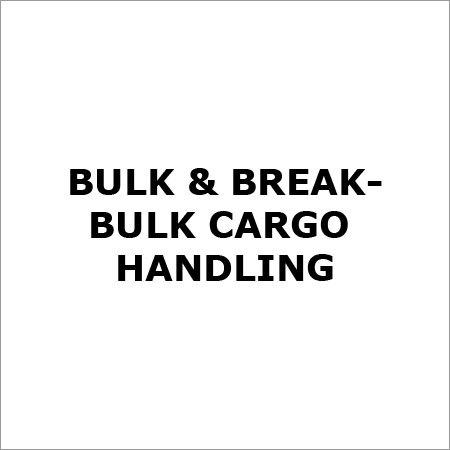 Bulk and Break Bulk Cargo Handling