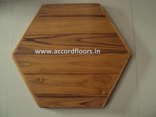Hexagonal Wood Flooring