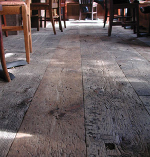 Reclaimed Teak Wooden Flooring