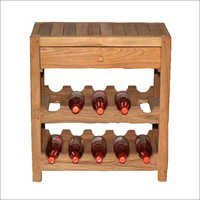 Wooden Bar Wine Rack