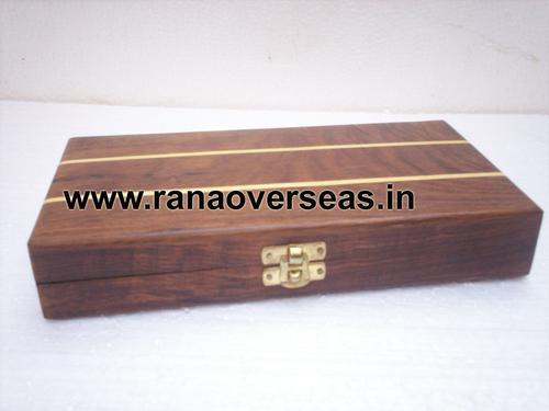 Wooden Decorative Backgamon Set