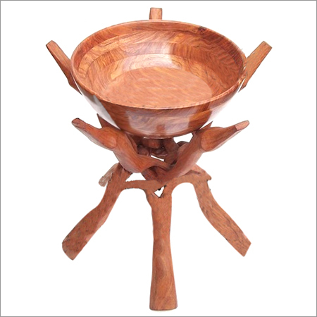 WOODEN BOWL STANDS