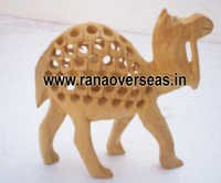 Stylish Wooden Camels