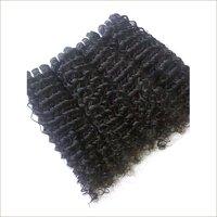 Wavy human hair,