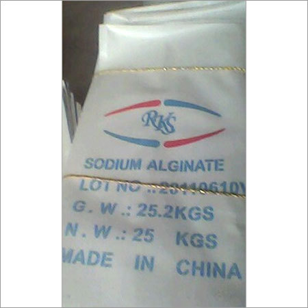 Textile Dying Sodium Alginate