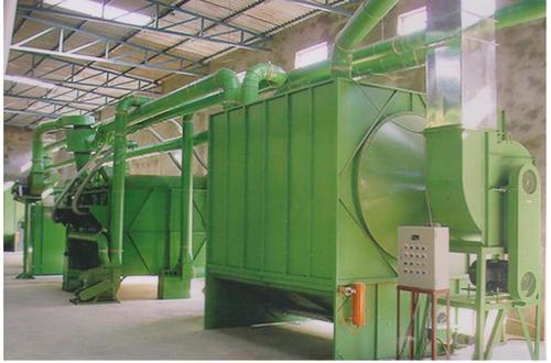 Soft Waste Fibre Recovery Machine