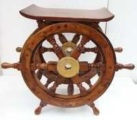 WOODEN SHIP WHEELS