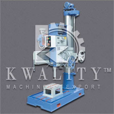 Automatic Radial Drilling Machine