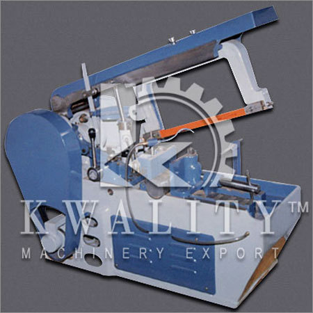 Metal Cutting Hacksaw Machine