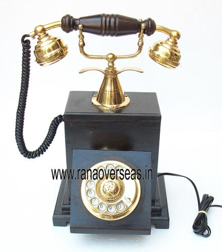 WOODEN TELEPHONES