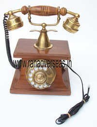 WOODEN TELEPHONES