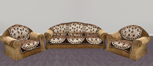 GOLD DARK CHOCOLATY 5 SEATER SOFA COVER