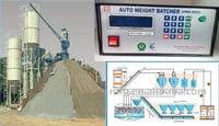 LCD Type Batch Weighing System