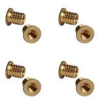 Brass Screw In Regular Head Inserts