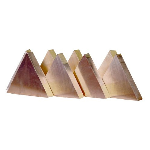 Brass Triangle Type Rods