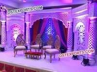Wedding Jodha Akber Stage Decors