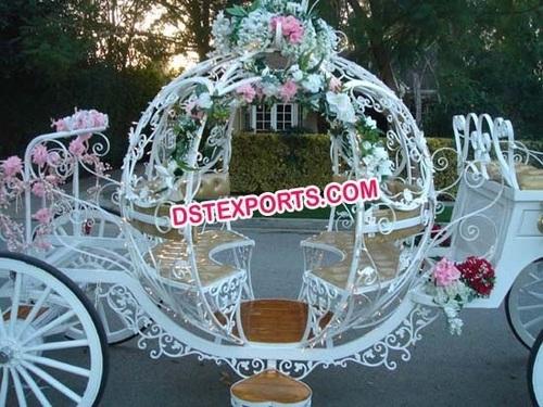 Wedding Cinderella Horse Buggy Carriage