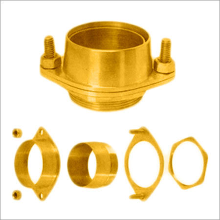 Flange Brass Cable Glands