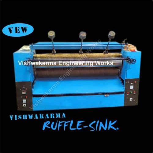 Ruffle Sink Machine