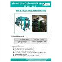 Smoke Foil Printing  Machine
