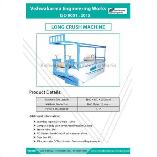Fabric Crush Machine