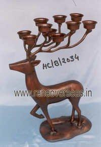 Aluminium Antique Finish Candle Stand2073-2074-2075-2076