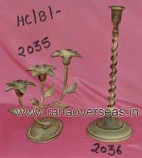 Aluminium Antique Finish Candle Stand2073-2074-2075-2076-2036