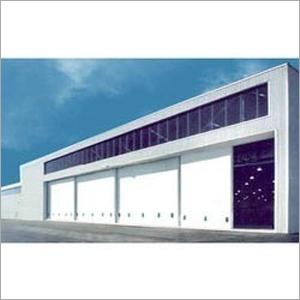 Industrial Hangar Door