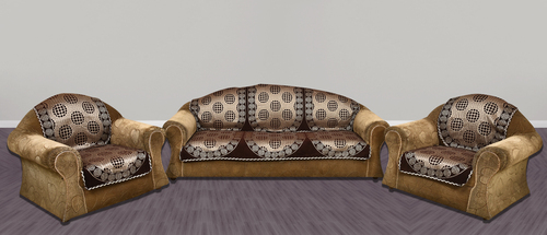 GOLD CHOCOLATY CHENILLE SOFA COVER