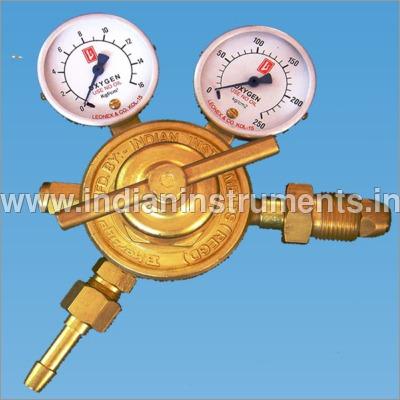 Double Meter Oxygen Gas Regulator