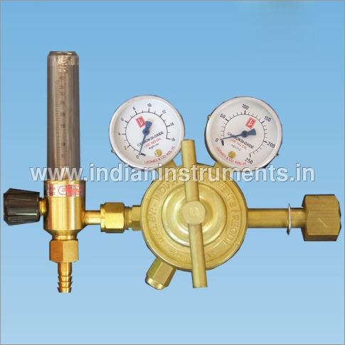 Double Meter Co2 Gas Regulator