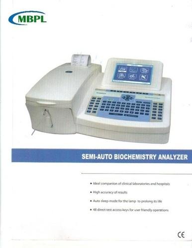 Semi Auto Analyzer Model ANALYTICA