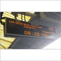 Train/Bus Destination Display