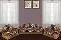 DARK CHOCOLATY 5 SEATER SOFA COVER