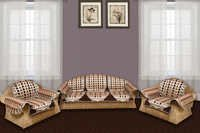 3D CHOCOLATY CHENILLE SOFA COVER