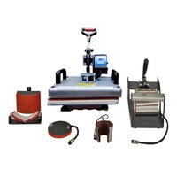 Combo Heat Press 5 in 1 Machine (12 inch x 15 inch)