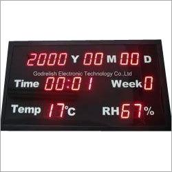 Humidity/Temperature Display