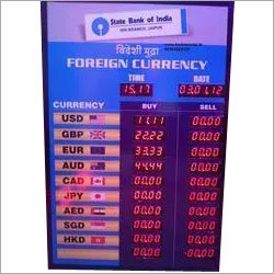 Currency Board- Forex Digital Display