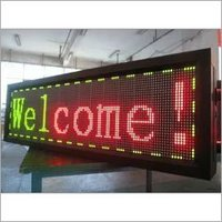 LED Notice Board Display