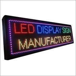 LED Multicolour Text Board
