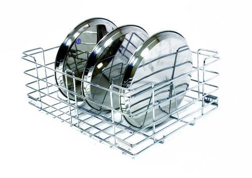 Steel Thali Basket