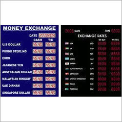 Foreign Exchange Rates - Digital Display